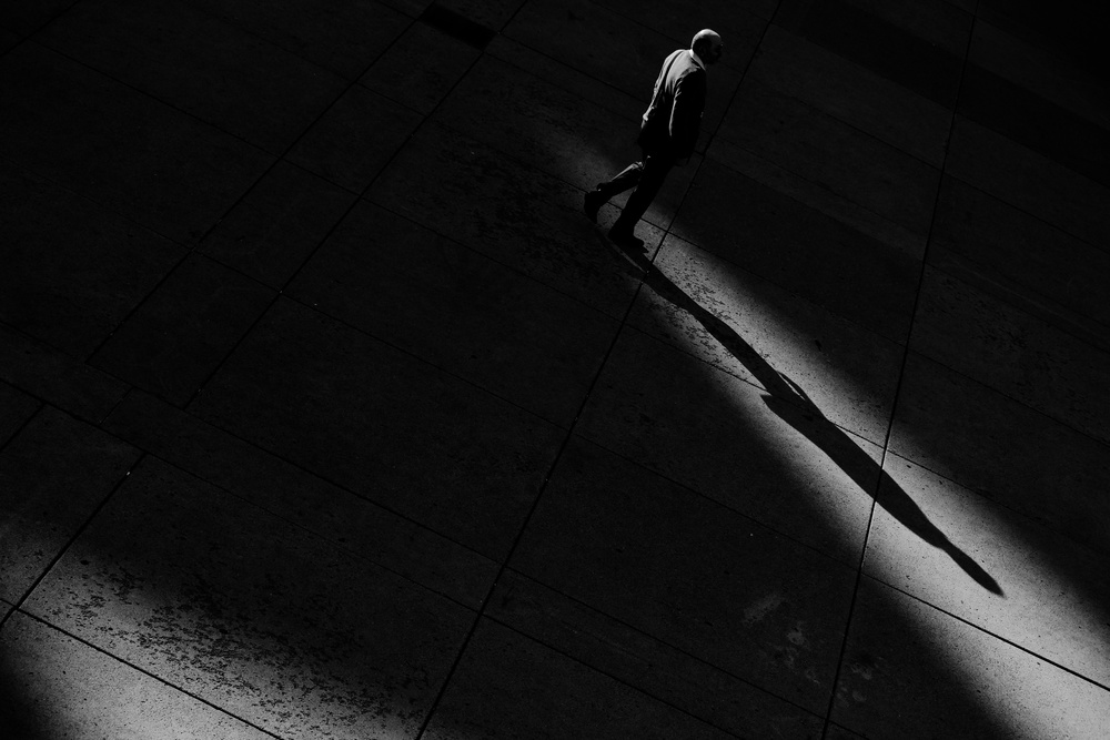 A piece of fine art art photography titled Light and Shadows by Jian Wang
