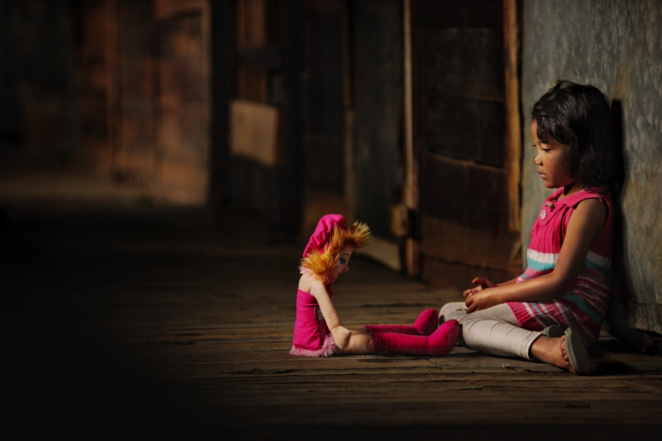 A piece of fine art art photography titled Please Talk to Me  Again    by Ario Wibisono