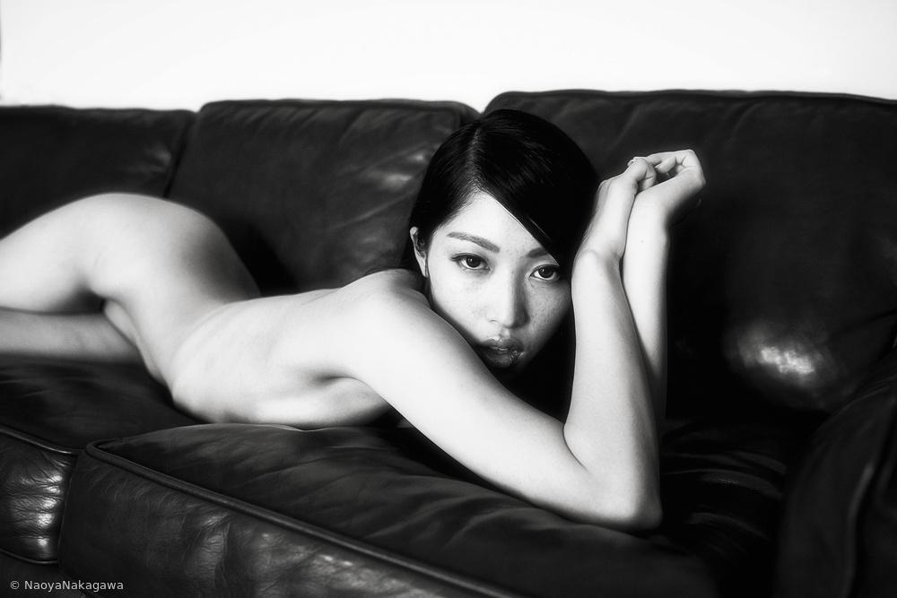 A naked girl
