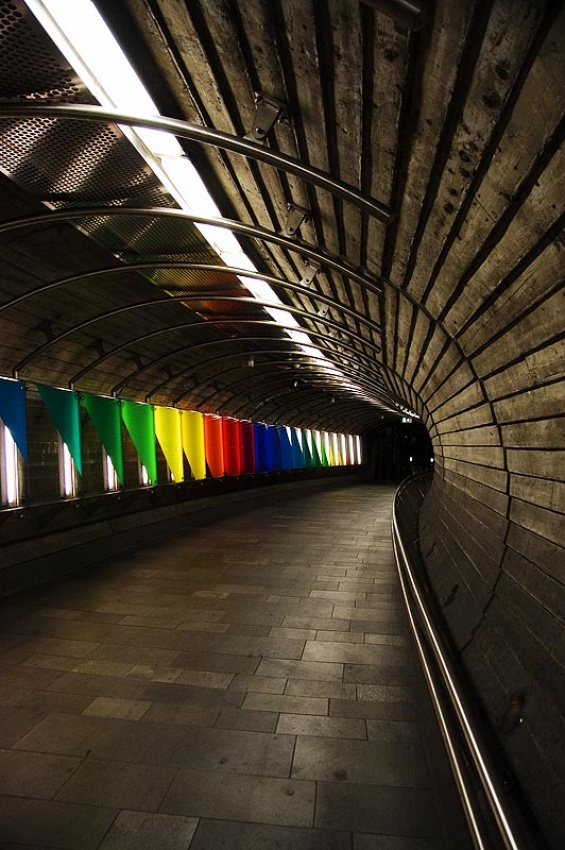 A piece of fine art art photography titled Colours Galore! by Tor H. Eriksen