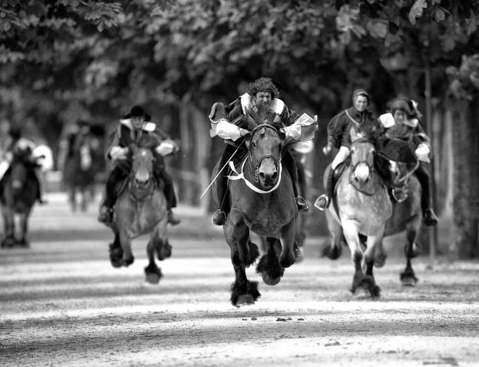 A piece of fine art art photography titled Horsepower by gerard sexton
