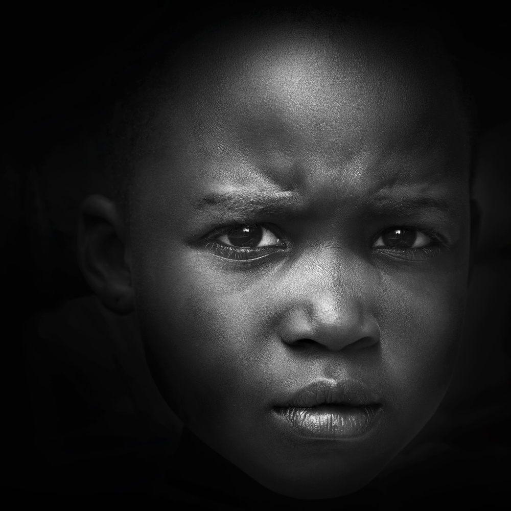 A piece of fine art art photography titled A Deep Frown by Marc Apers