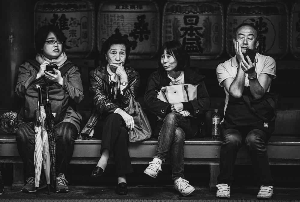 Waiting in Nikko