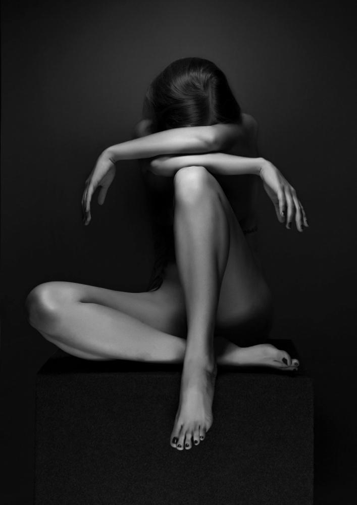 A piece of fine art art photography titled Eszter by Jozef Kiss