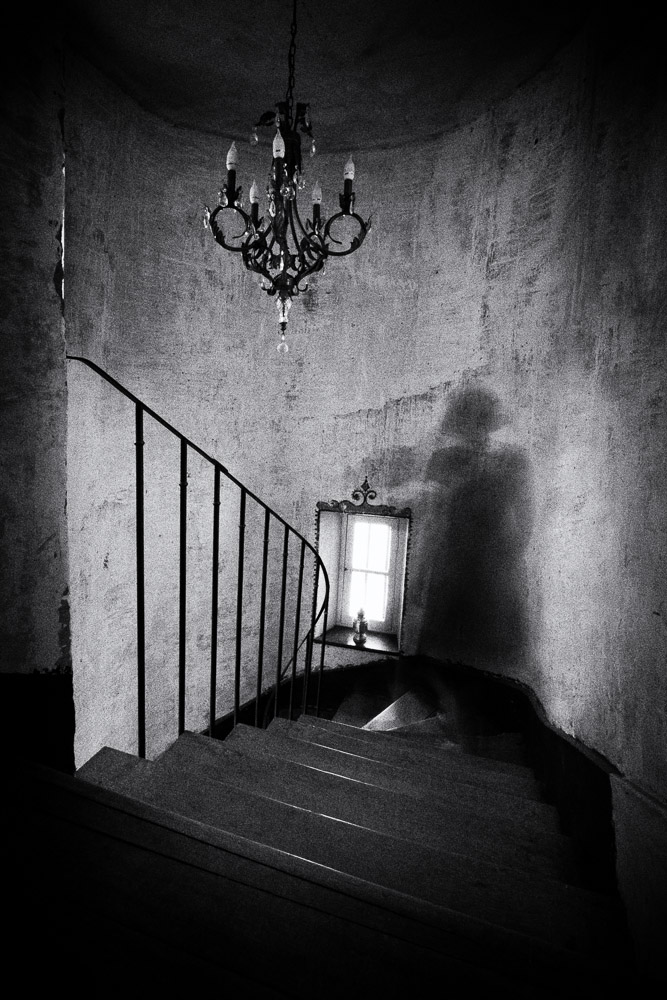 A piece of fine art art photography titled The Day of Her Escape by Esther Hufkens