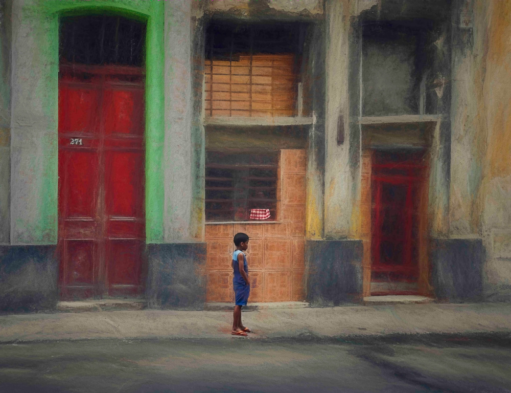 A piece of fine art art photography titled Como Un Cuento by Roxana Labagnara