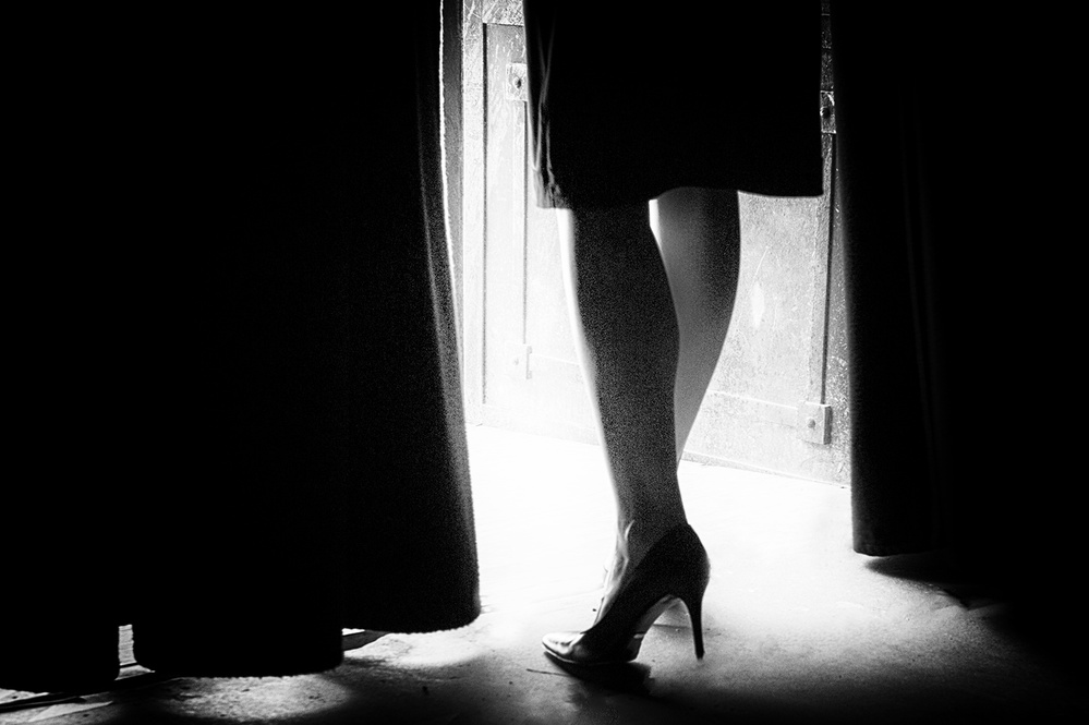 A piece of fine art art photography titled Scent of a Woman by Enrico Facchetti