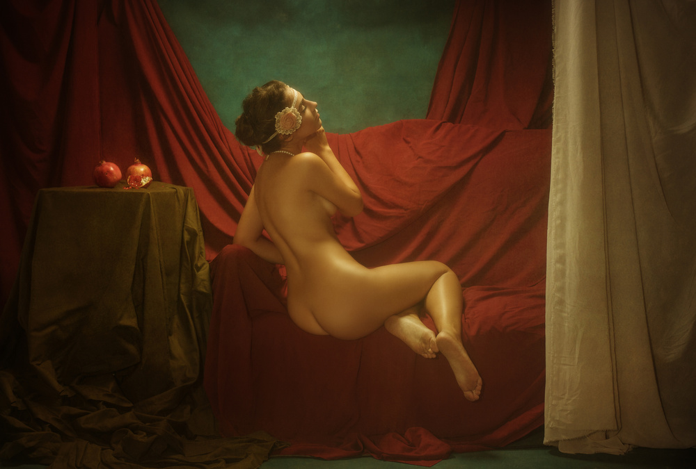 A piece of fine art art photography titled Elena by Evgeny Loza