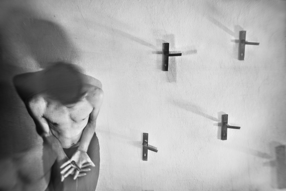 A piece of fine art art photography titled On (non)free Choice by Ondrej Cechvala