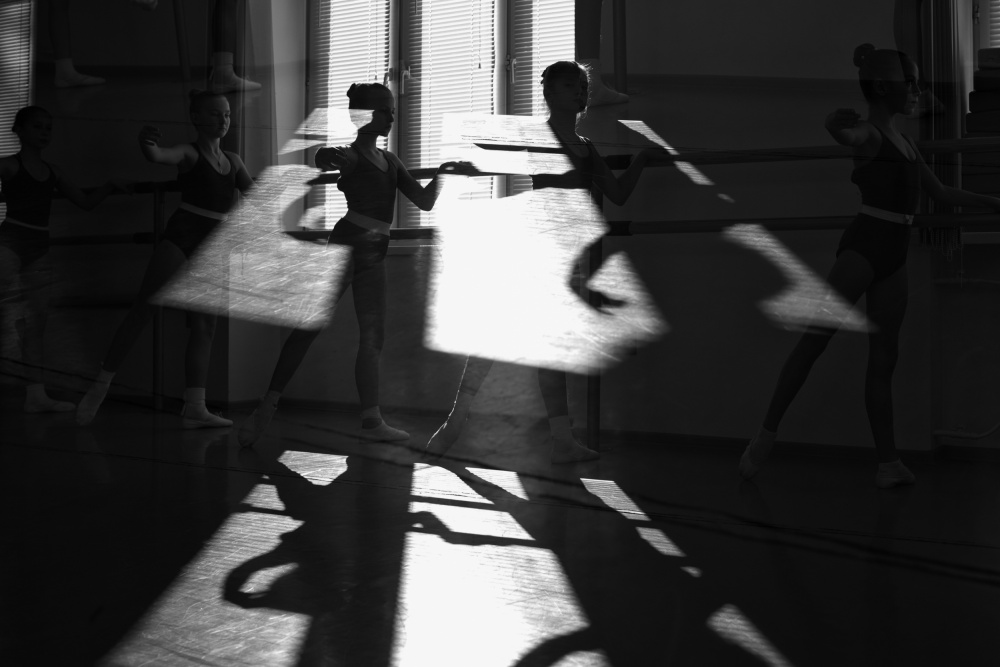 A piece of fine art art photography titled    Dance of Shadows by Gulya Markelova