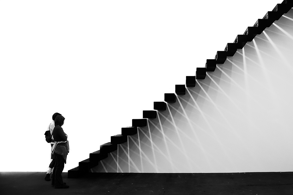 A piece of fine art art photography titled Stairs by Claas Michalik