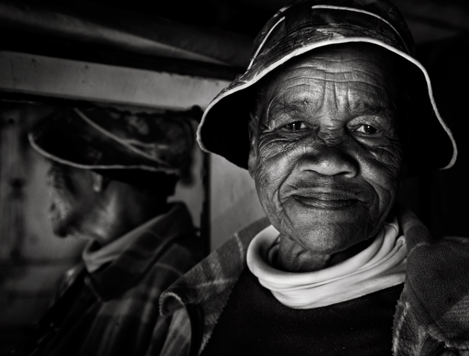 A piece of fine art art photography titled Auntie Ivy by Andre du Plessis FRPS