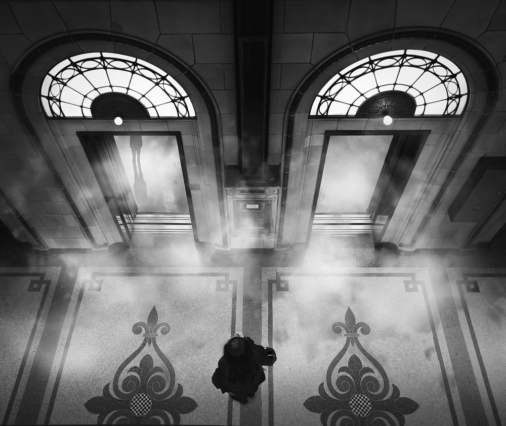 A piece of fine art art photography titled The Ground Floor by Adrian Donoghue