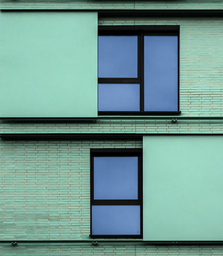 View this piece of fine art photography titled Caught in green by Jef Van den Houte