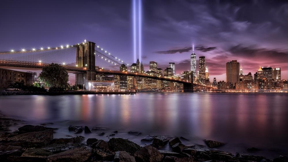 A piece of fine art art photography titled In Memorial II September 11 by Jesús M. García
