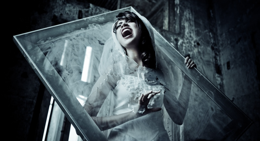 A piece of fine art art photography titled Trapped In the Past by Iman Rivanda