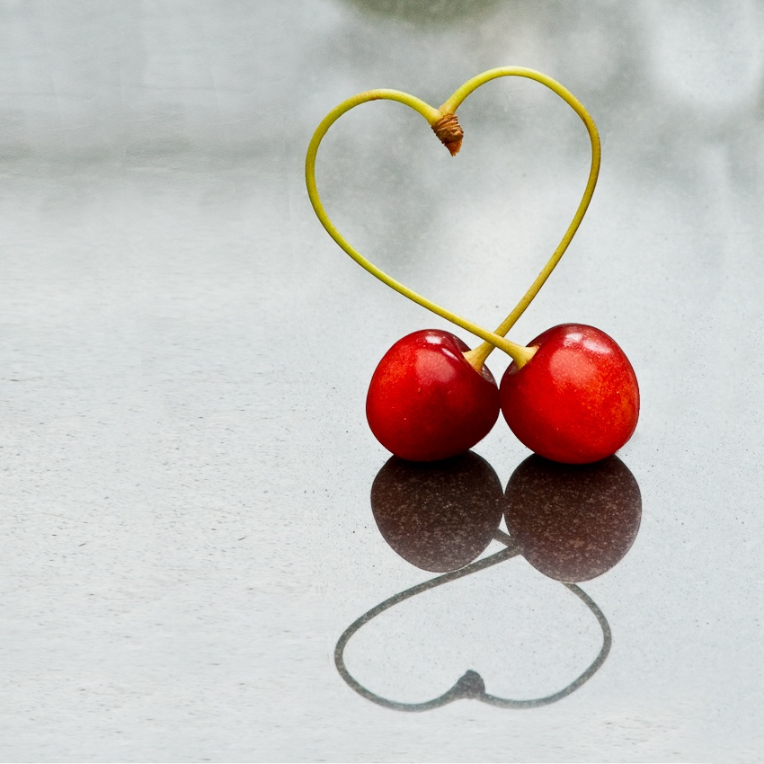 A piece of fine art art photography titled Love Cherries by olimage
