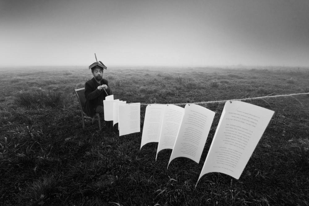 A piece of fine art art photography titled Poetic Crossroads by Leszek Paradowski