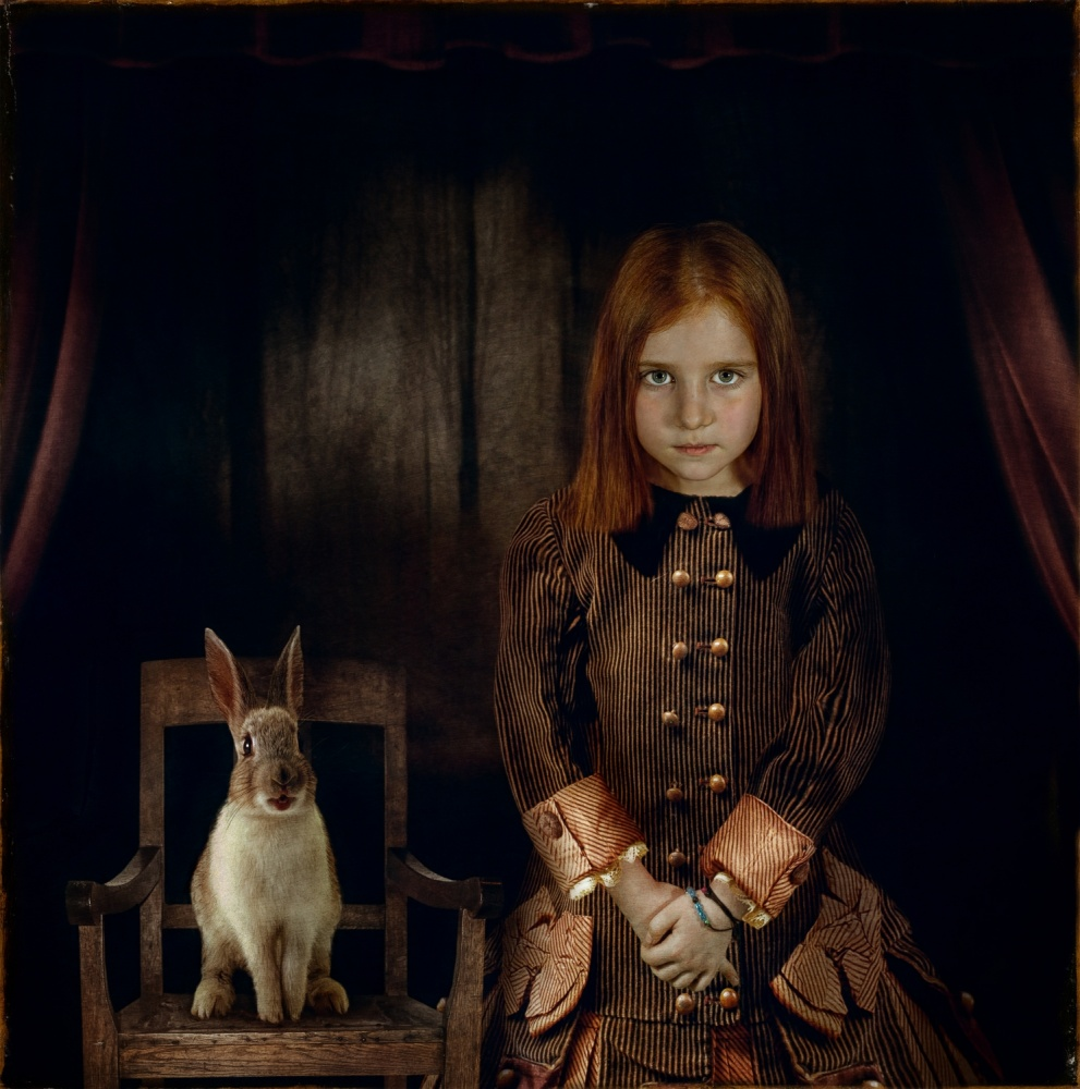 A piece of fine art art photography titled Alice 2014 by Svetlana Melik-Nubarova