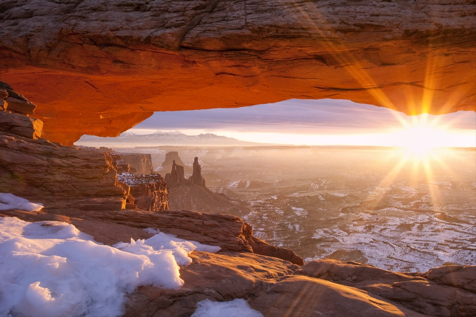 A piece of fine art art photography titled This Is Mesa Arch by Reid Wolcott