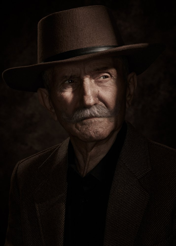 A piece of fine art art photography titled Old Timer by Dragos Ionescu