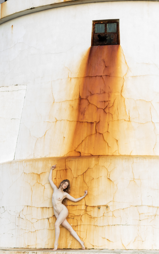 A piece of fine art art photography titled Golden Shower by Sheila Alnes