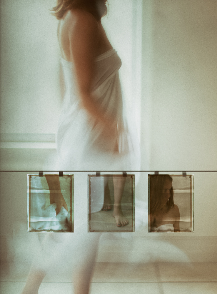 A piece of fine art art photography titled Same Old Empty Feeling In My Heart by Charlaine Gerber