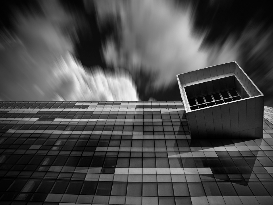 A piece of fine art art photography titled Hypo Bank Udine by Enrico Zanolla