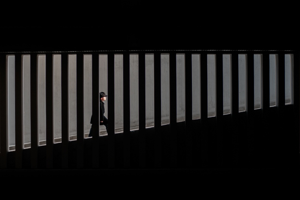 A piece of fine art art photography titled Focus by Budi Gunawan