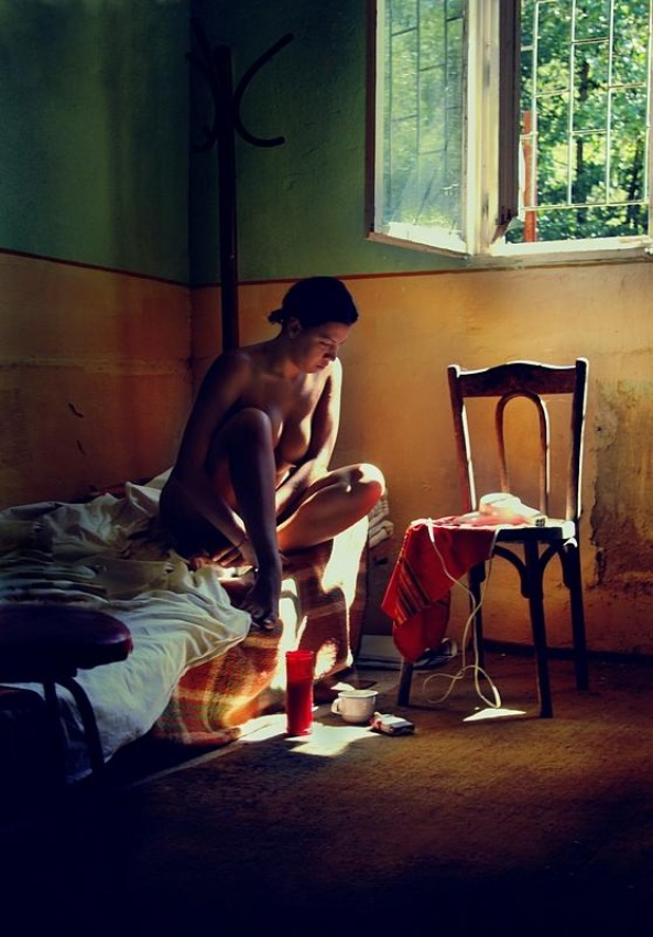A piece of fine art art photography titled Room2 by Anca Cernoschi