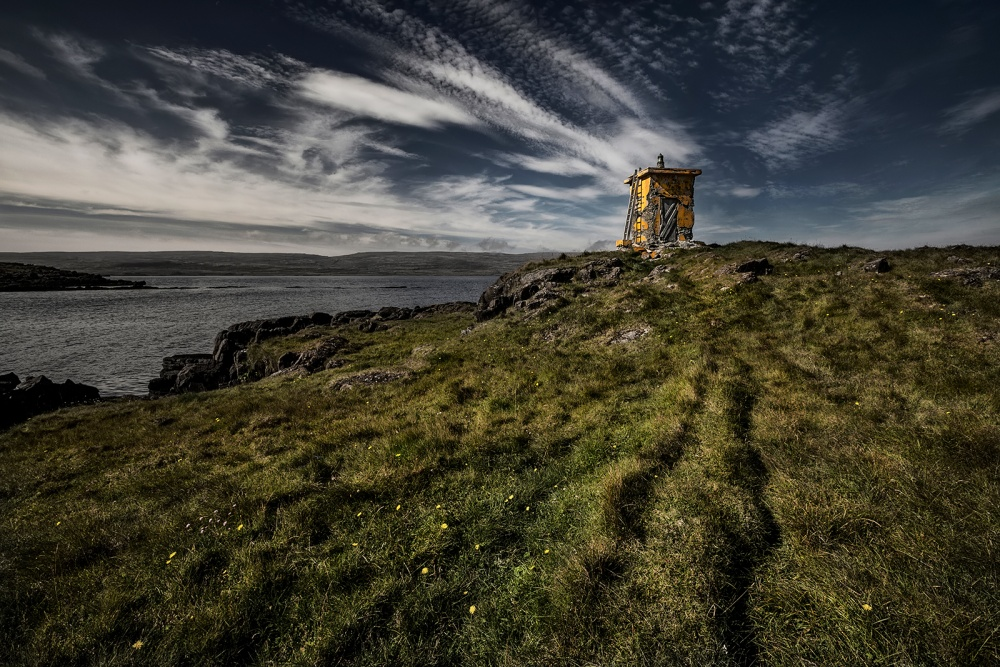 A piece of fine art art photography titled Old Lighthouse by Bragi Ingibergsson - BRIN