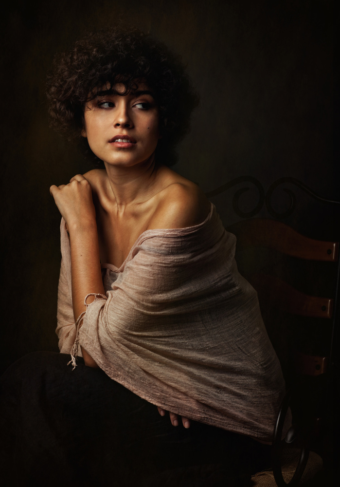 A piece of fine art art photography titled Sabina by Zachar Rise