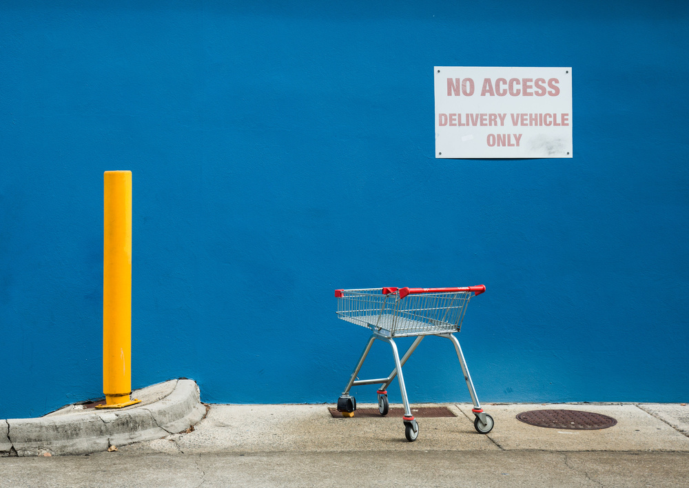 A piece of fine art art photography titled No. Access Here by Jacqueline Hammer