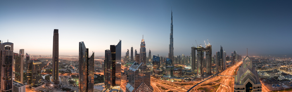 Sunrise in Dubaï
