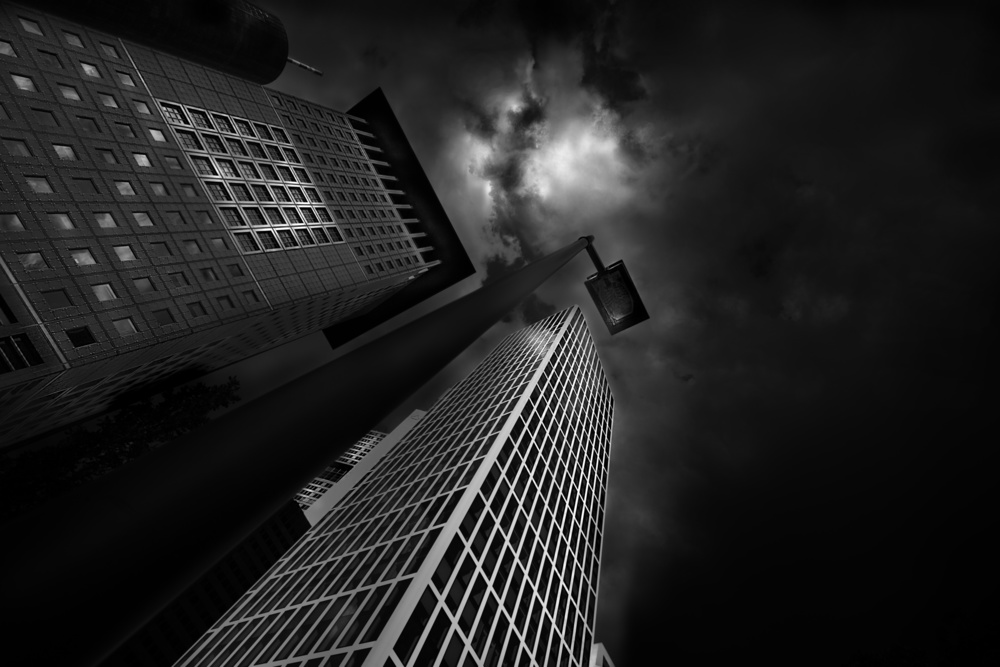 A piece of fine art art photography titled The Towers by Adam Fritzen