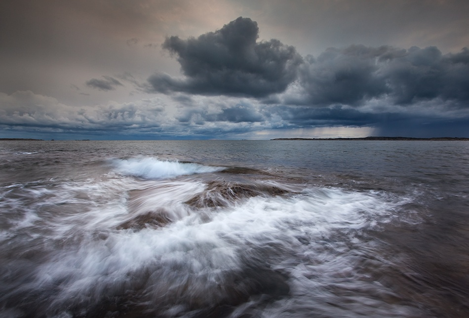 A piece of fine art art photography titled Bad Weather by Marcus Larsson