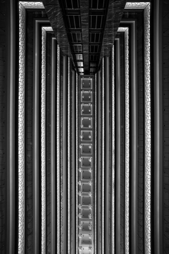 A piece of fine art art photography titled Upside Down by Mustafa Karaaslan