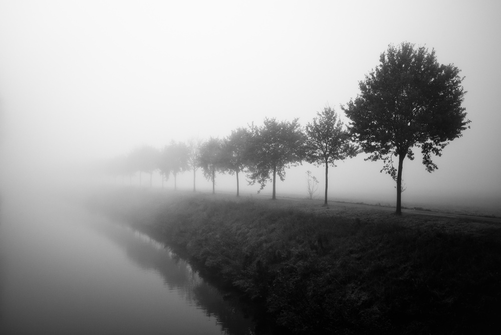 A piece of fine art art photography titled Fade Away by Christophe Staelens