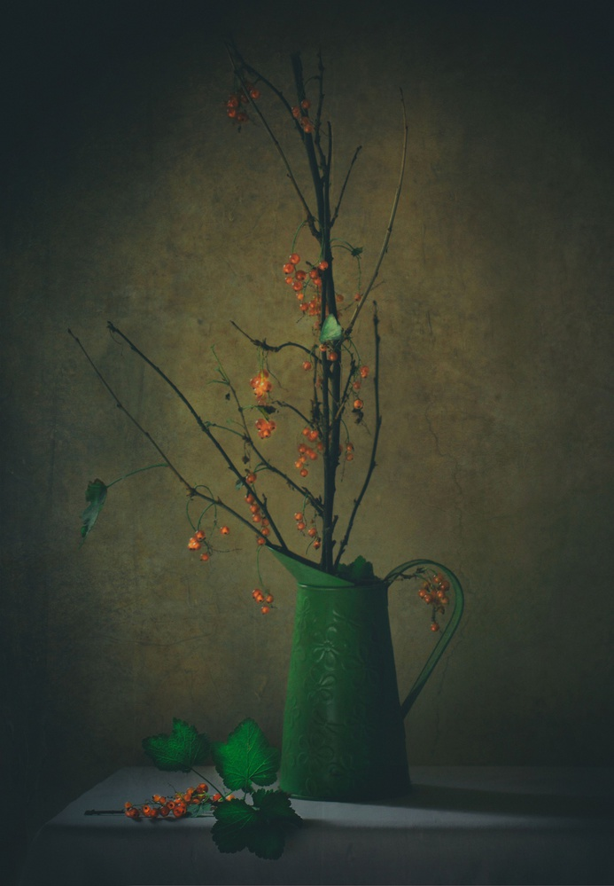 A piece of fine art art photography titled End of Summer by Delphine Devos