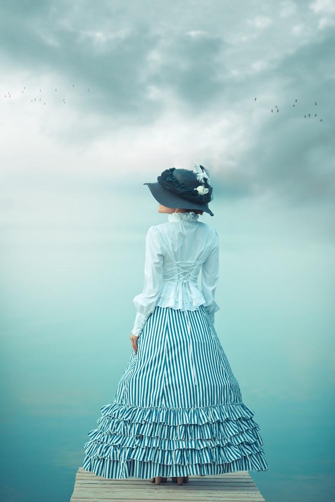 Lady At Lake