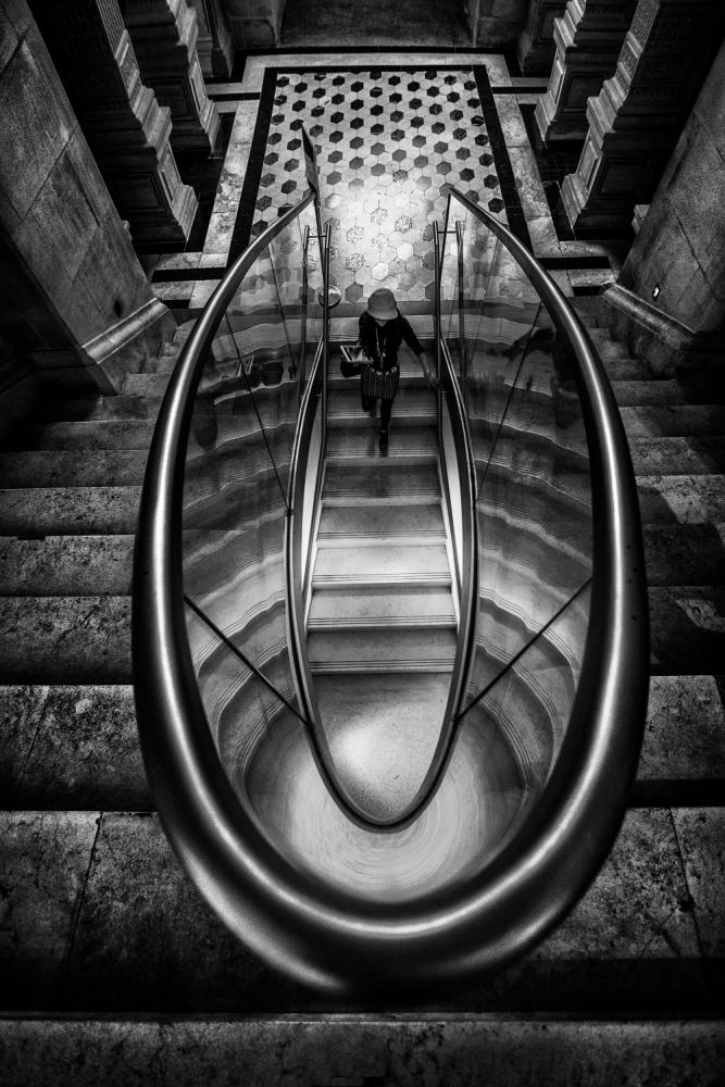 A piece of fine art art photography titled U  Entrance by Martin Cekada