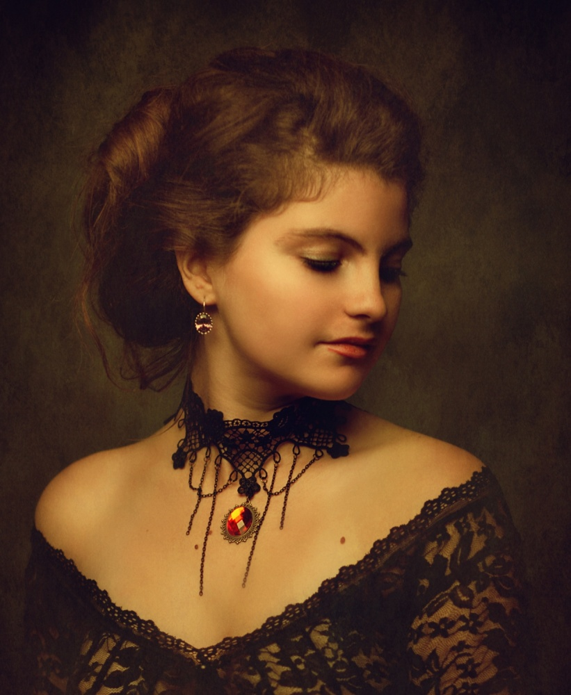 A piece of fine art art photography titled Lia by Zachar Rise