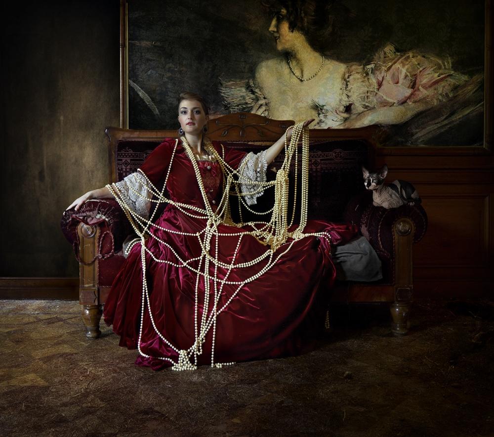 A piece of fine art art photography titled Majken by Patrizia Burra