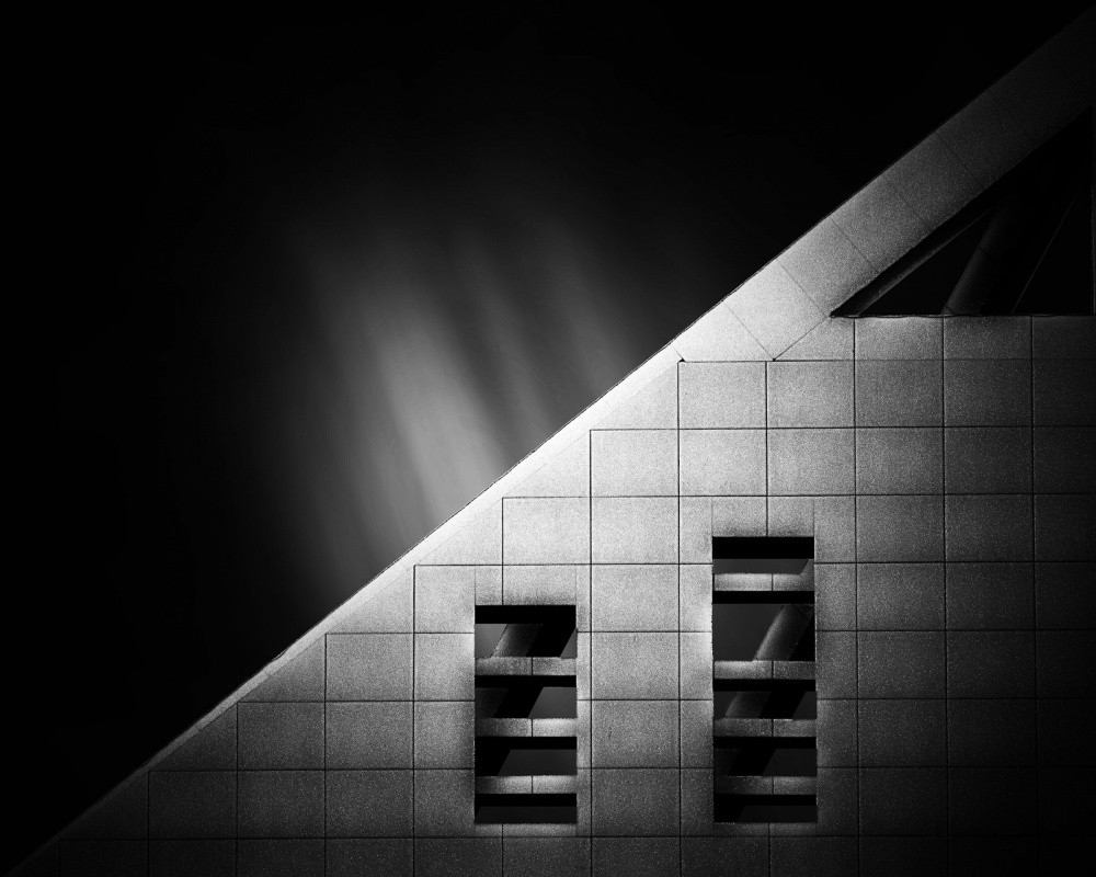 A piece of fine art art photography titled Salman Tower by Arian Yousefi Javan