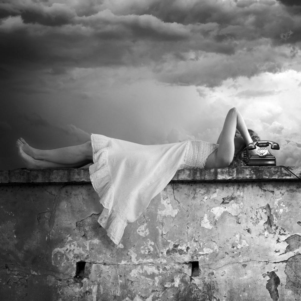A piece of fine art art photography titled Call Me by alejandra baci