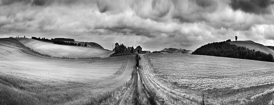 A piece of fine art art photography titled Hampshire Landscape by Clive Collie