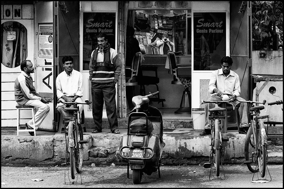 A piece of fine art art photography titled Gents Parlour by Robert