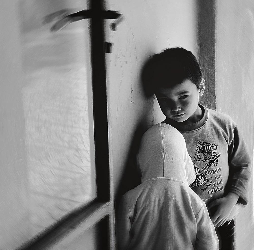 A piece of fine art art photography titled Two Lost Souls by Arash Bolouri