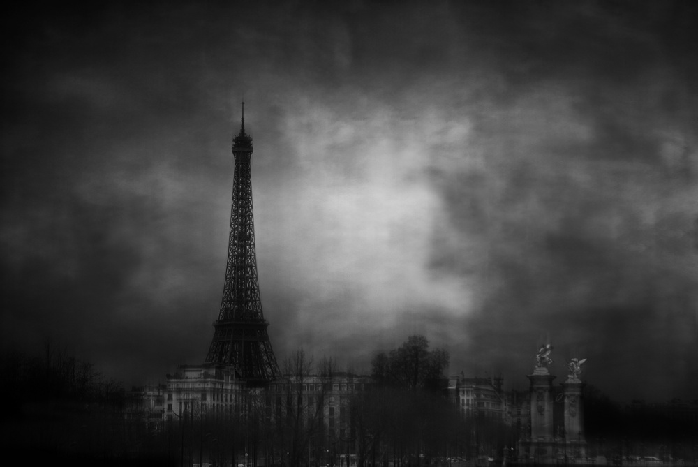 A piece of fine art art photography titled Dreaming of Paris by Jose C. Lobato