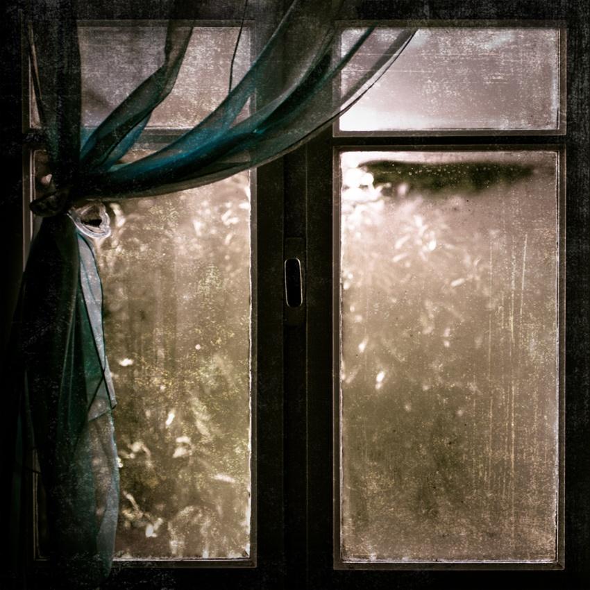 A piece of fine art art photography titled Fenetre Sur Jardin by Ludovic Charbonneau